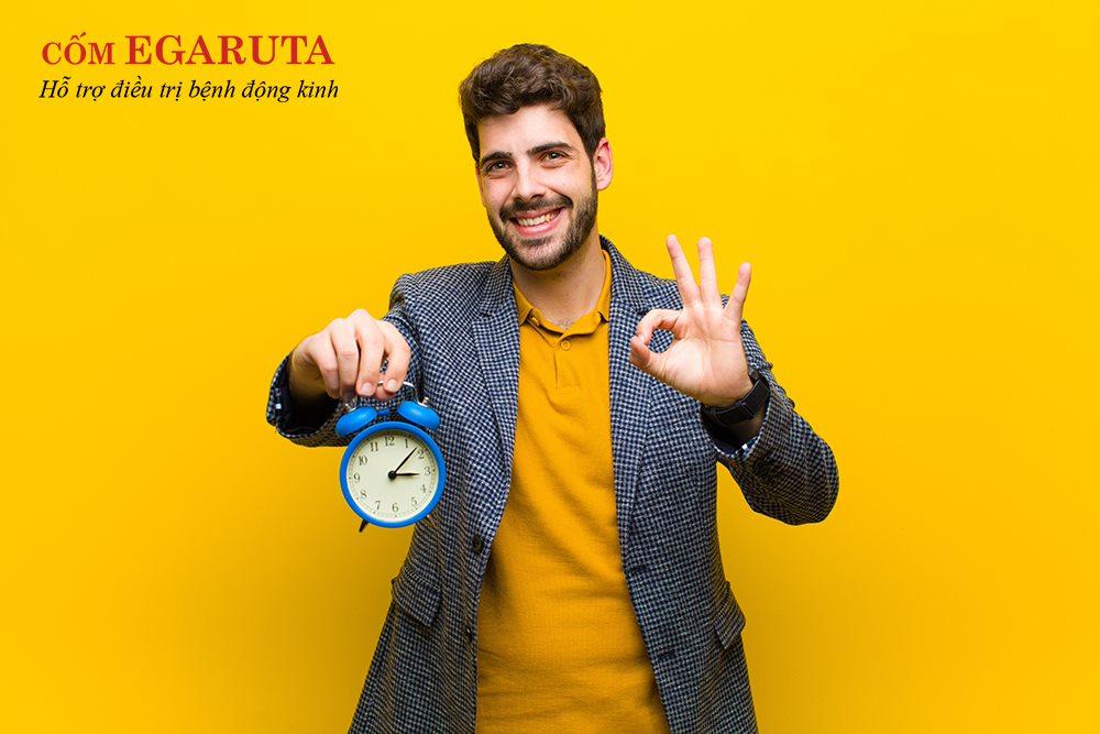 Cốm Egaruta giúp giảm tần số, mức độ, thời gian diễn ra cơn co giật, động kinh